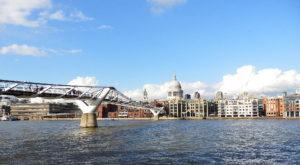 Millenium Bridge, St Paul's cathedral