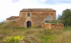 Mallorquinischer Stil, Altes Haus, Ruine