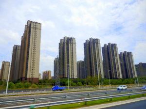 Neubaugebiet Huangzhou China