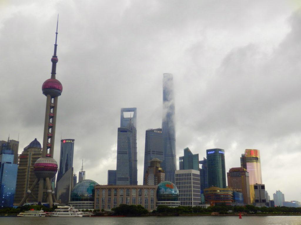 Shanghai Pudong, vom Bund aus